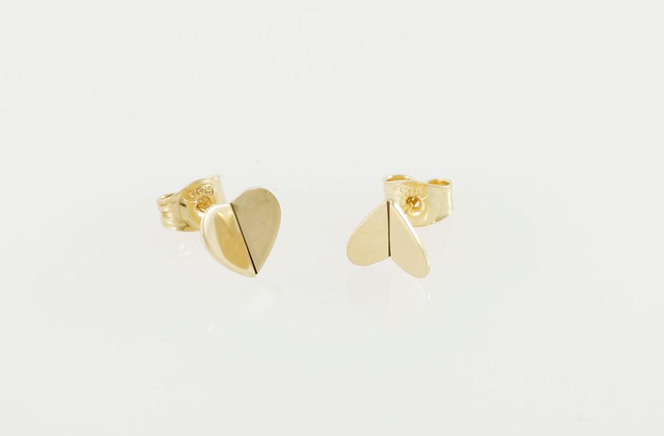 Pyörre-sydänkorvakorut,-kulta-macro